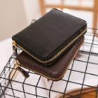 Genuine Leather Zip Wallet