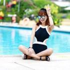 Piper Halter Cutout Swimsuit