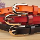 Layered Genuine Leather Belt