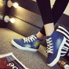 Star High-top Sneakers