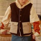 Reversible Buttoned Vest