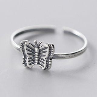 Butterfly Ring S925 Silver - One Size