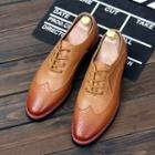 Brogue Genuine Leather Oxfords