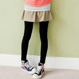 Inset Skirt Leggings