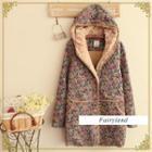 Floral Hooded Coat