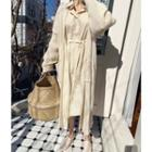 Cotton Shirtdress With Sash