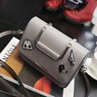 Badge Detail Shoulder Bag