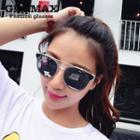 Double Bar Mirrored Sunglasses