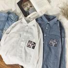 Printed Pocket Stripe Shirt