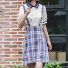 Gingham Jumper Skirt