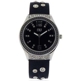 Studded Silicone Watch One Size