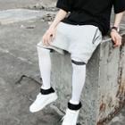 Drop Crotch Sweat Shorts