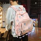 Penguins Print Lightweight Backpack