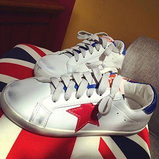Star Colour Block Sneakers