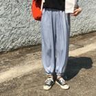 Chiffon Jogger Pants