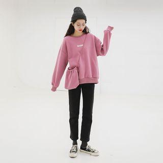 Set: Lettering Sweatshirt + Crossbody Bag