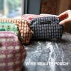 Patterned Makeup Pouch