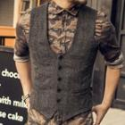 Woolen Buttoned Vest