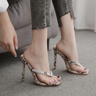 Stiletto Flip Flops