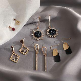 Set Of 5: Drop Earring (various Designs)