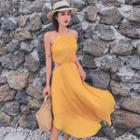 Halter Midi Sun Dress