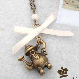 Vintage Kettle Necklace