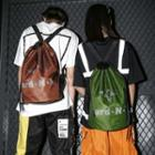 Couple Matching Drawstring Backpack