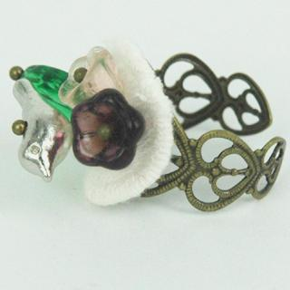 Old Style Little Bird Ring One Size
