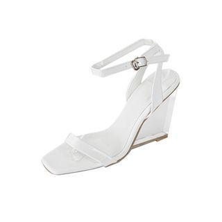 Transparent High-heel Sandals