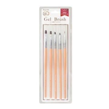 Nail Gel Brush Set 1 Pc