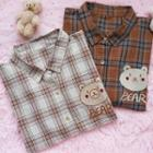 Bear Plaid Shirt
