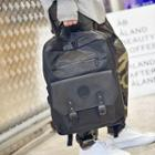 Buckled Oxford Backpack