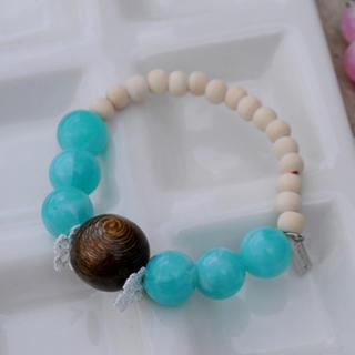 Kiss The Beach Bracelet(skyblue)