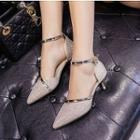 Heel Ankle Strap Sandals