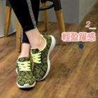 Neon Color Sports Sneakers