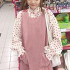 Sleeveless Dress / Dotted Shirt