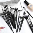 Set Of 18: Makeup Brush With Pouch