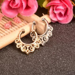Nose Ring B0445gold - One Size