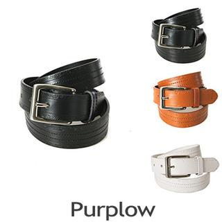 Embossed Genuine Leather Belt
