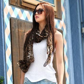 Sleeveless Knit Top White - One Size