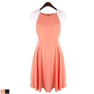 Chiffon A-line Dress