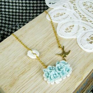 Blue Haven Bird Necklace
