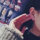 Fringed Circle Earrings