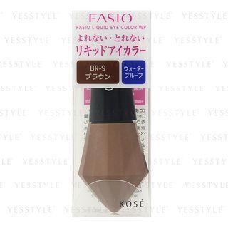 Kose - Fasio Liquid Eye Color Waterproof (#br9 Brown) 1 Pc
