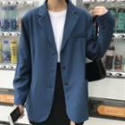 Plain Blazer Blue - One Size
