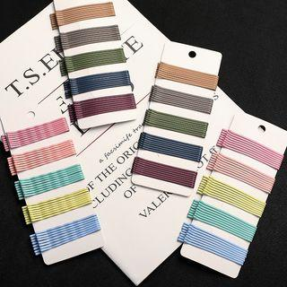 Set: Color Alloy Hair Pin