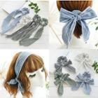 Striped Fabric Hair Tie / Headband