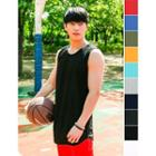 Colored Cotton Tank Top