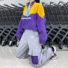 Color Block Pullover / Harem Pants