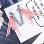 Crystal Tasseled Drop Earrings